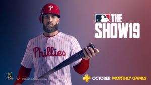PlayStation Plus Games October 2019 MLB The Show 19