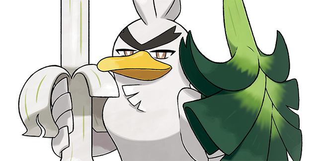 Pokemon Sword and Shield Sirfetch'd Banner