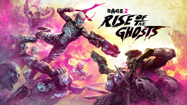 RAGE 2 First Expansion Rise of the Ghosts Key Visual