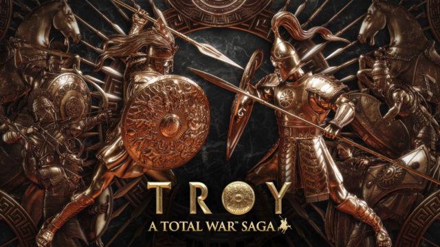 TROY A Total War Saga Logo Banner