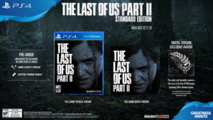 The Last of Us Part II Standard Edtion