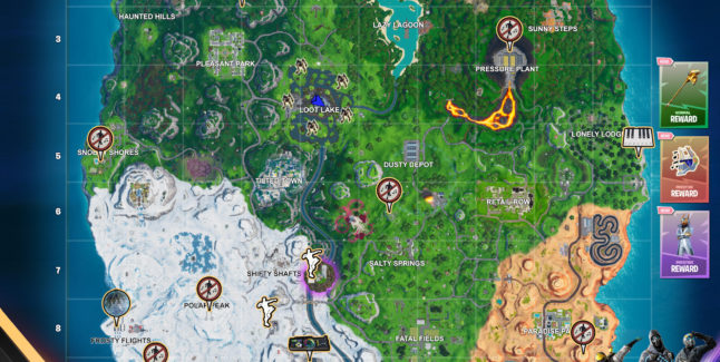 Fortnite Season X Week 6 Challenges Cheat Sheet