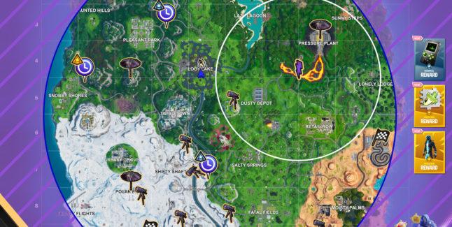 Fortnite Season X Week 8 Challenges Cheat Sheet