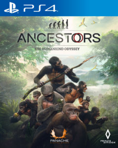 Ancestors The Humankind Odyssey PS4 Boxart