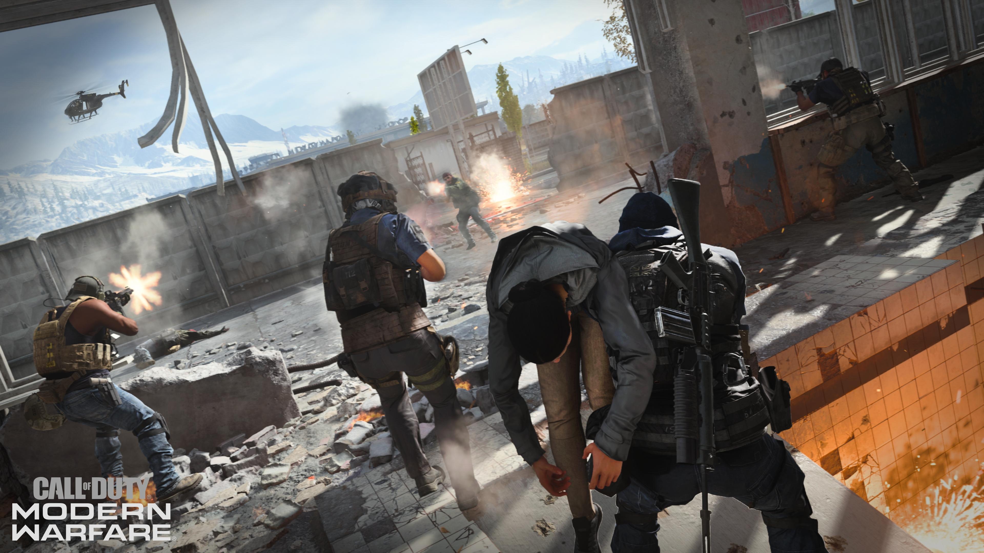 Call of Duty Modern Warfare Special Ops Screen 4