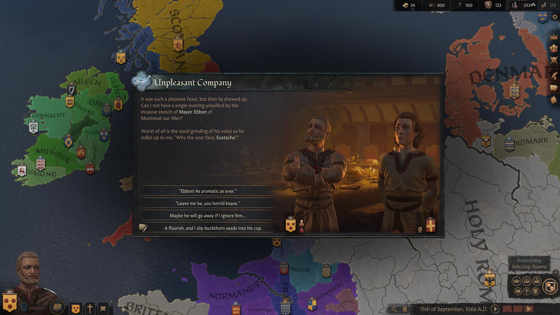 Crusader Kings III Screen 2