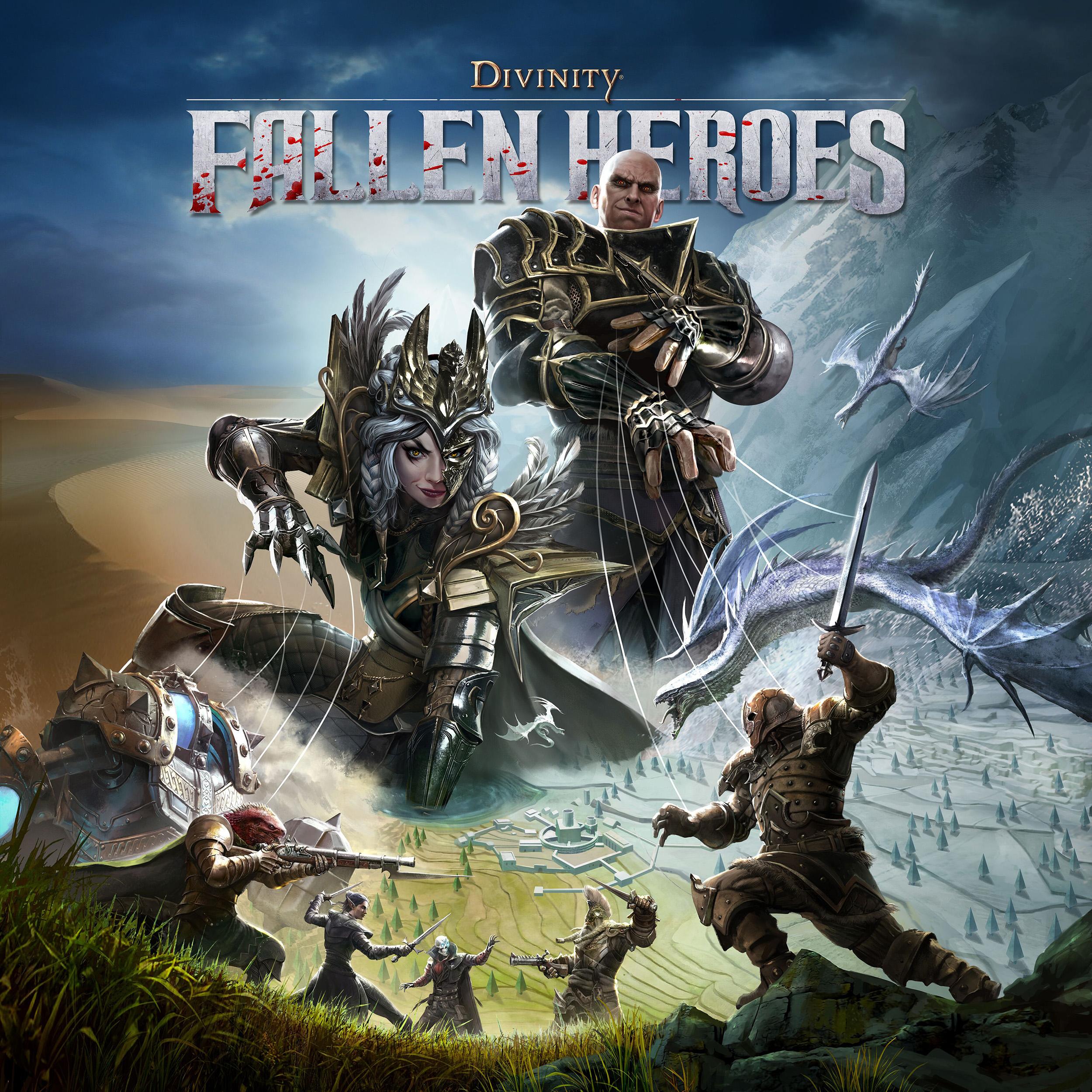 Divinity Fallen Heroes Key Art