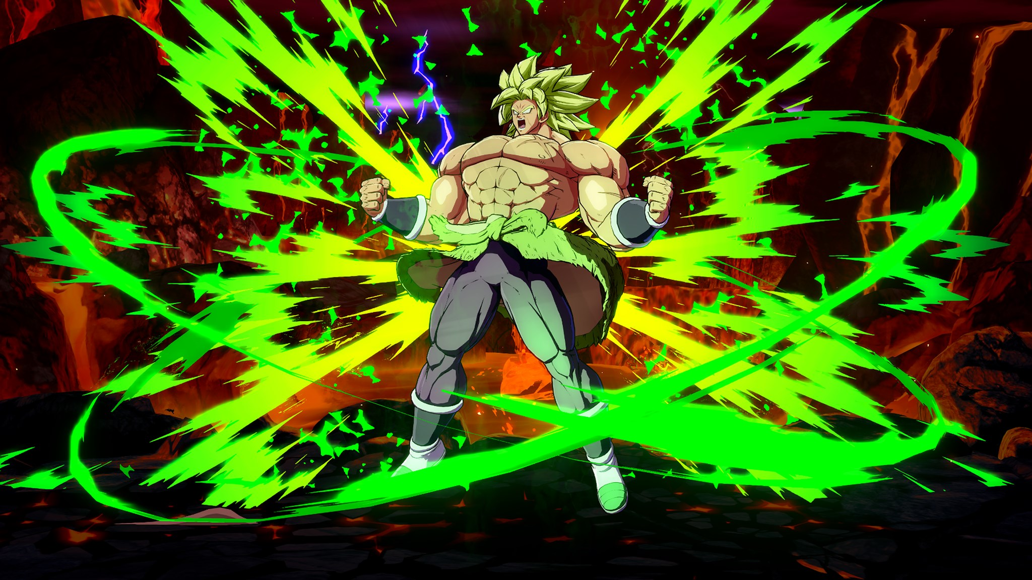 Dragon Ball FighterZ Broly (DBS) Screen 1