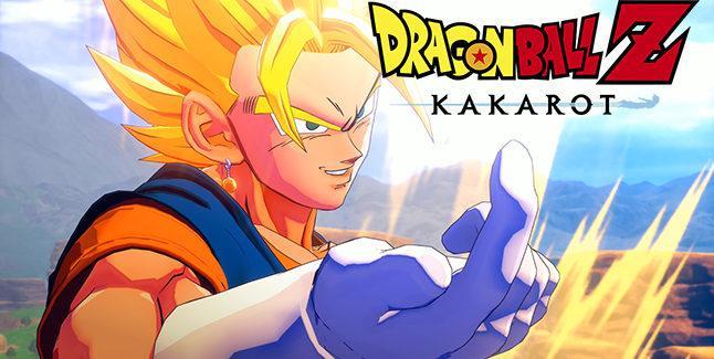 Dragon Ball Z Kakarot Vegito Banner