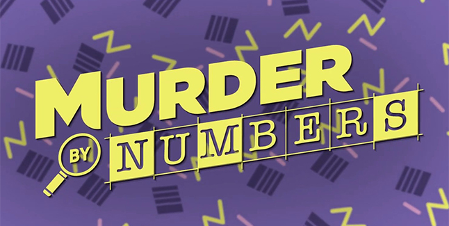 Murder By Numbers Banner