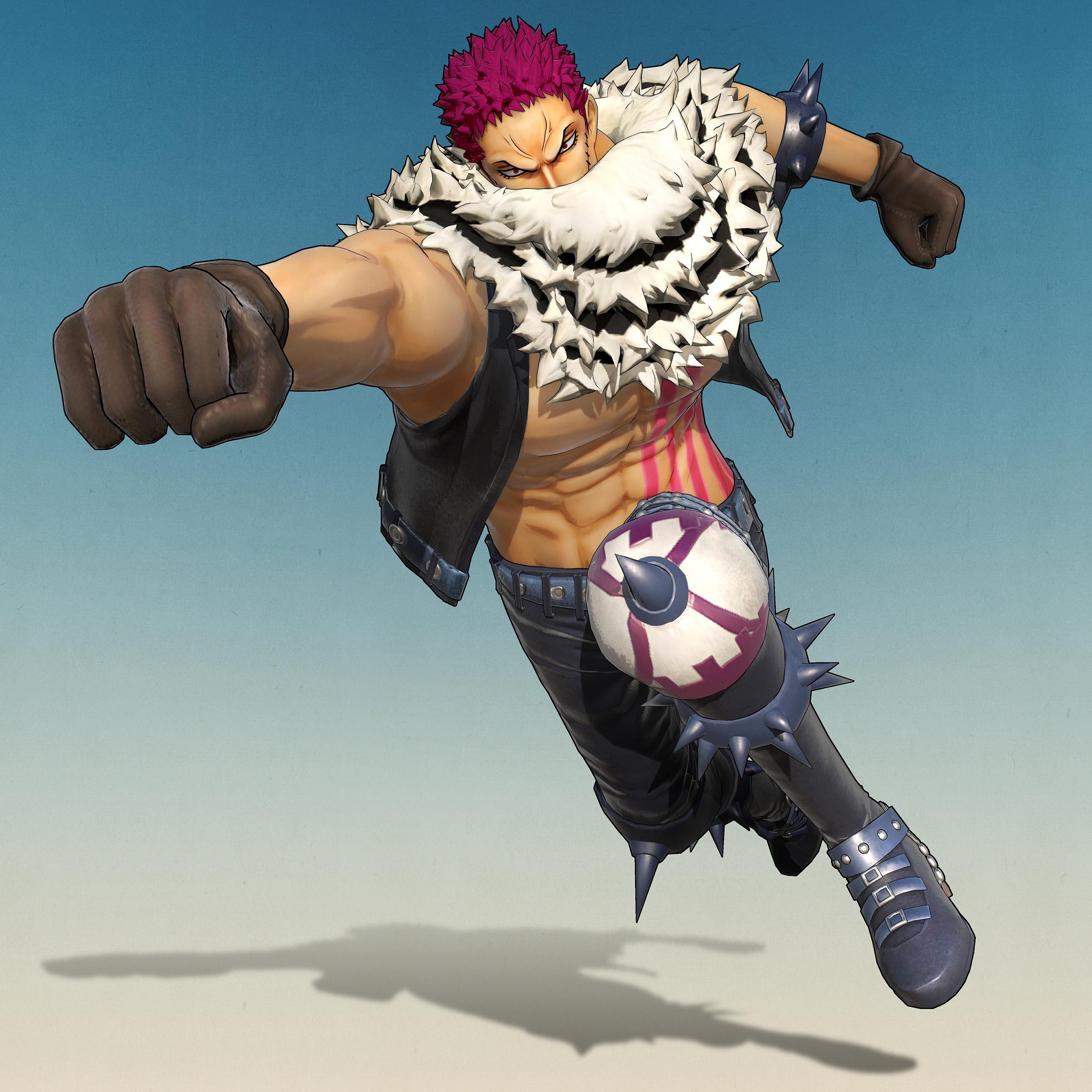One Piece Pirate Warriors 4 Charlotte Katakuri Render