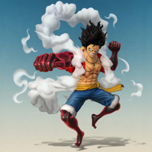 One Piece Pirate Warriors 4 Luffy Snakeman Render