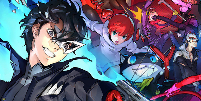 Persona 5 Scramble The Phantom Strikers Banner