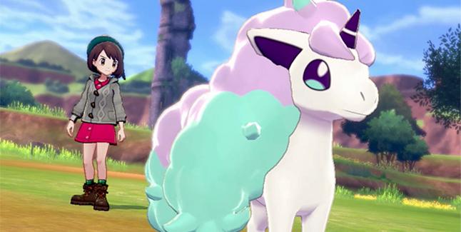 Pokemon Sword and Shield Galarian Ponyta Banner