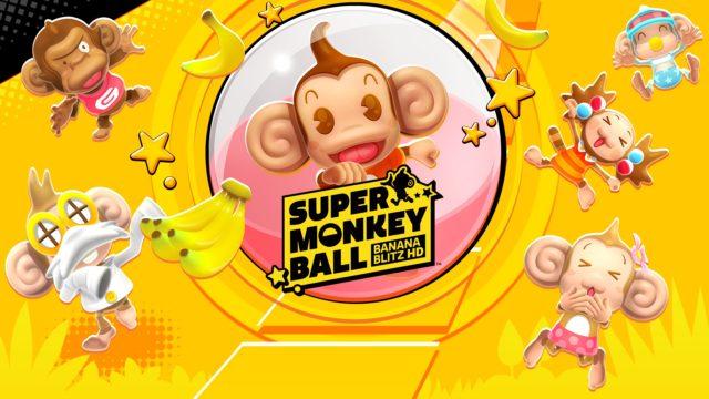 Super Monkey Ball Banna Blitz HD Banner