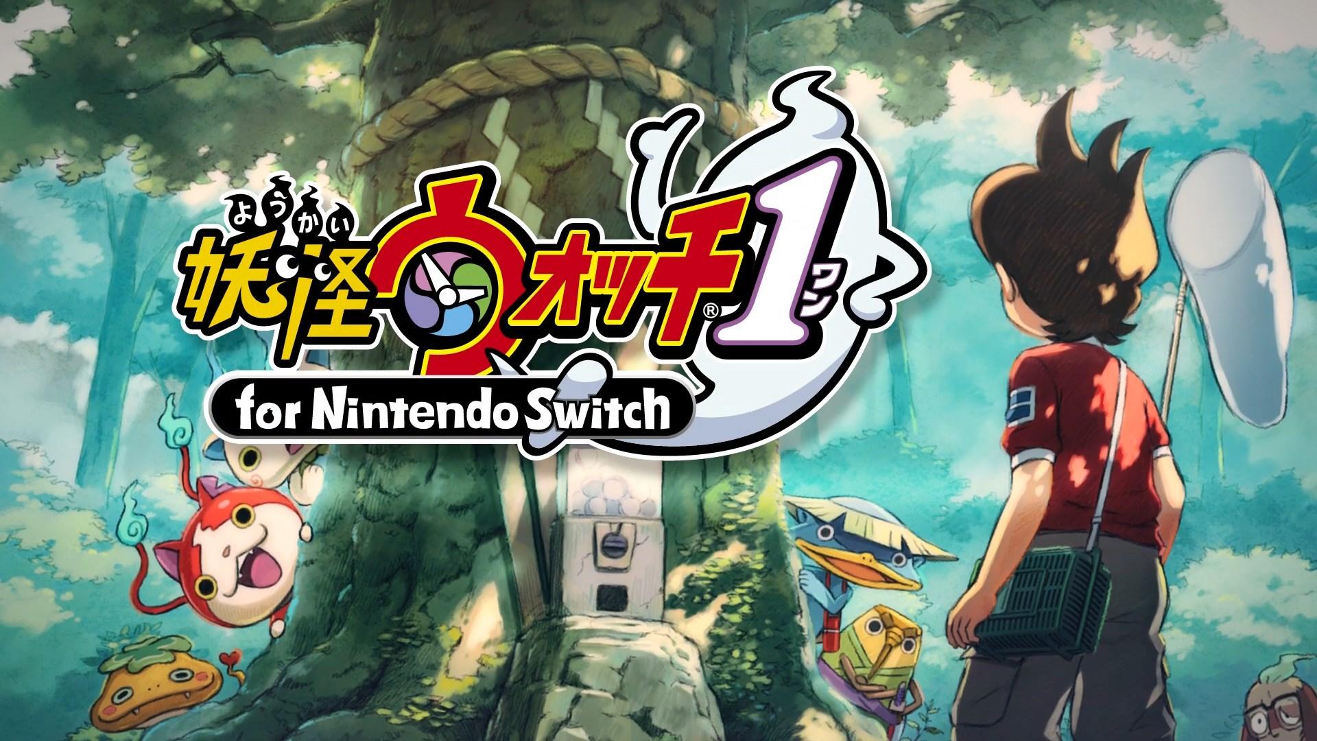 Yo Kai Watch 1 For Nintendo Switch Banner