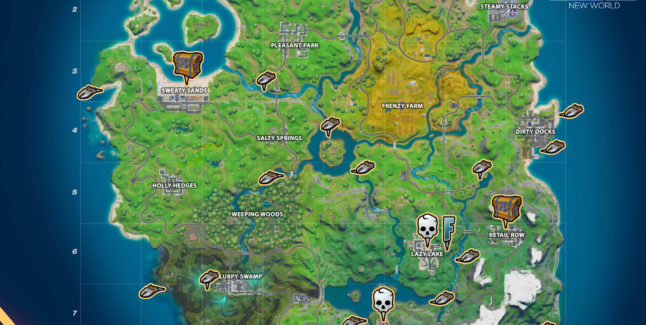 Fortnite Chapter 2 Season 1 Week 1 Challenges Cheat Sheet