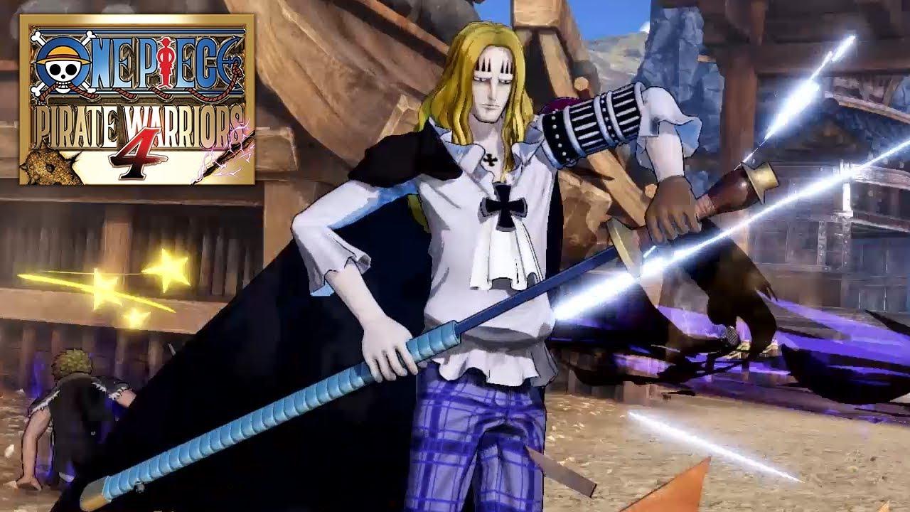One Piece: Pirate Warriors 4 'Basil Hawkins' Gameplay