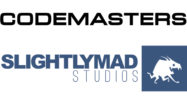Codemasters Slightly Mad Studios Logos