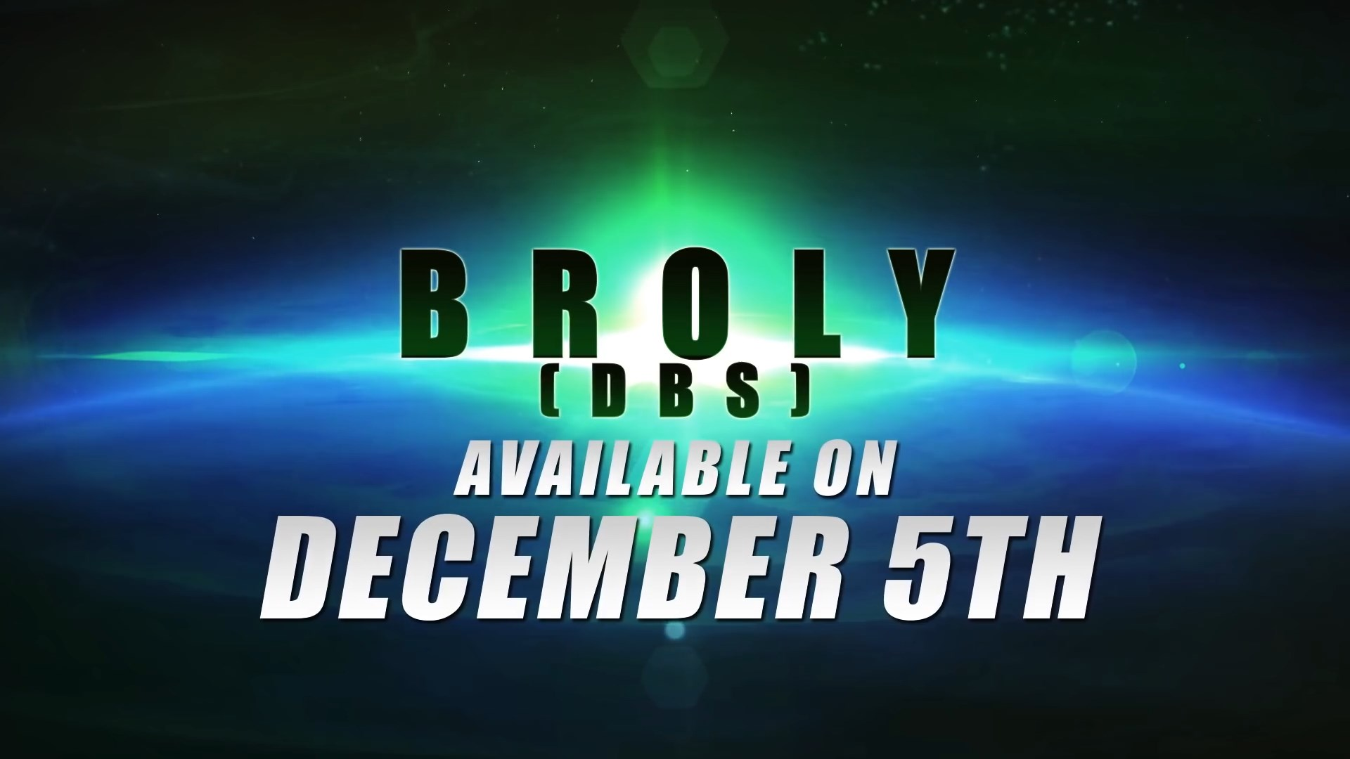 Dragon Ball FighterZ Broly (DBS) Release Date