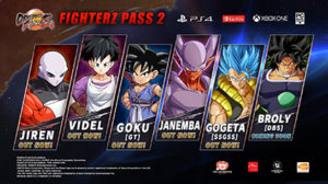 Dragon Ball FighterZ Season Pass 2