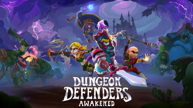 Dungeon Defenders Awakened Key Art