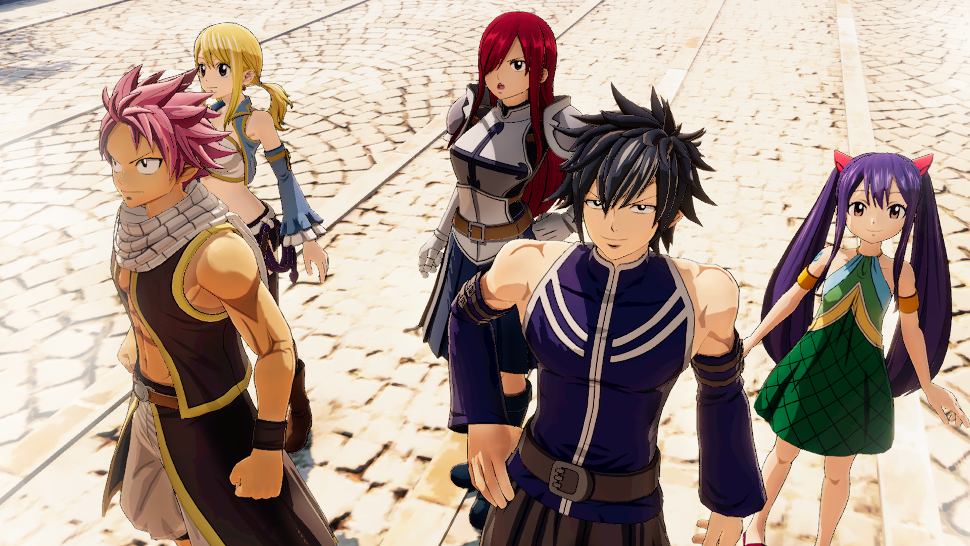 Fairy Tail Screen 4