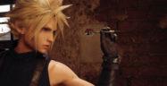 Final Fantasy VII Remake Cloud Playing Darts