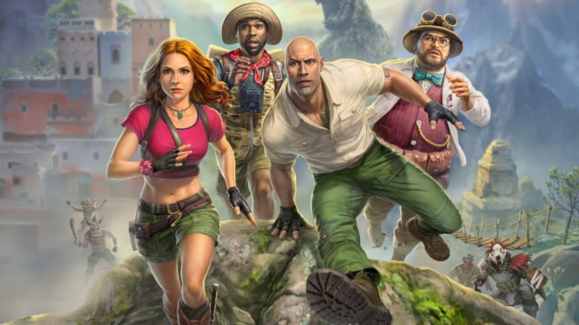 Jumanji The Video Game Key Art