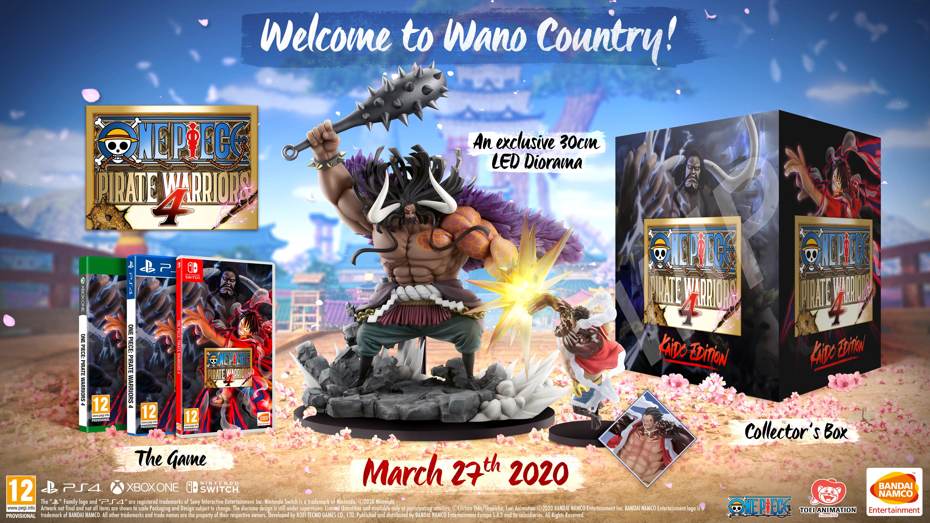 One Piece Pirate Warriors 4 Kaido Edition