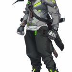 Overwatch 2 Genji Concept Art
