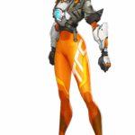 Overwatch 2 Tracer Concept Art