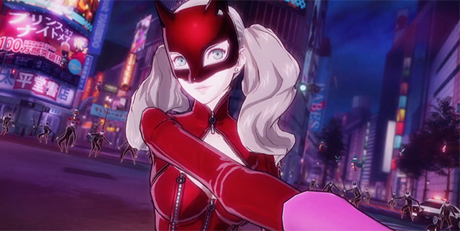 Persona 5 Scramble The Phantom Strikers Ann Banner