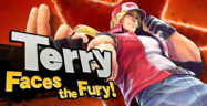 Super Smash Bros. Ultimate - Terry Faces the Fury Banner