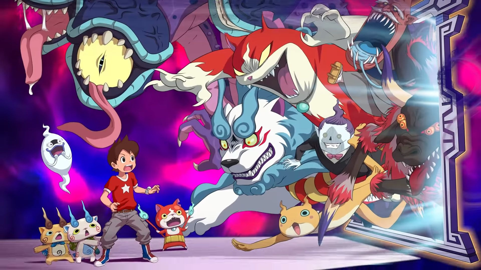 Yo-kai Watch 4++ Artwork