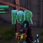 Fortnite Chapter 2 Hidden R Letter Location