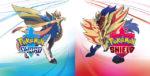 Pokemon Sword and Shield Legendary Pokemon boxart