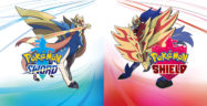 Pokemon Sword and Shield Legendary Pokemon boxart