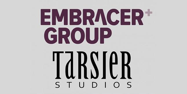 Embracer Tarsier Studios Logos Banner