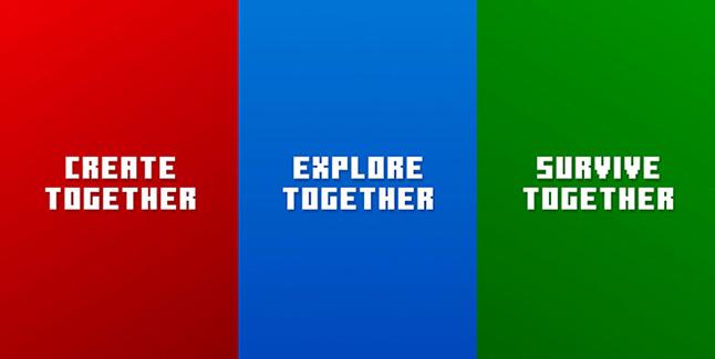 Minecraft is Better Together - Bedrock Version Banner