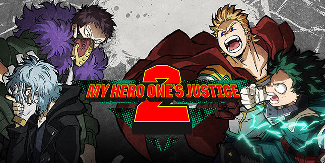 My Hero One's Justice 2 Banner