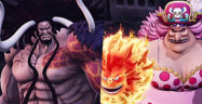 One Piece Pirate Warriors 4 Kaido and Big Mom Banner