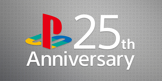 PlayStation 25th Anniversary Banner