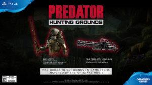 Predator Hunting Grounds Pre-order Bonus
