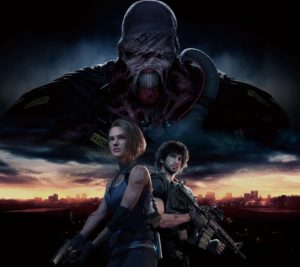 Resident Evil 3 Screen Key Art