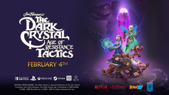 The Dark Crystal Age of Resistance Tactics Promo