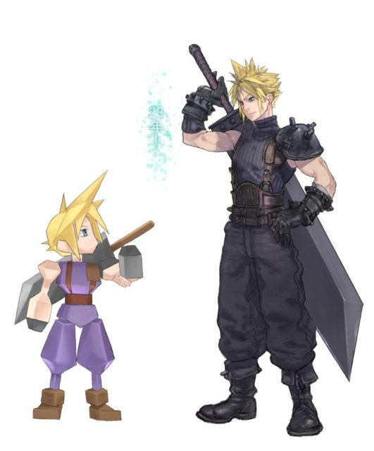 Final Fantasy VII Remake Fan Art