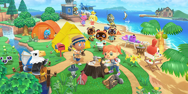 Animal Crossing New Horizons Banner
