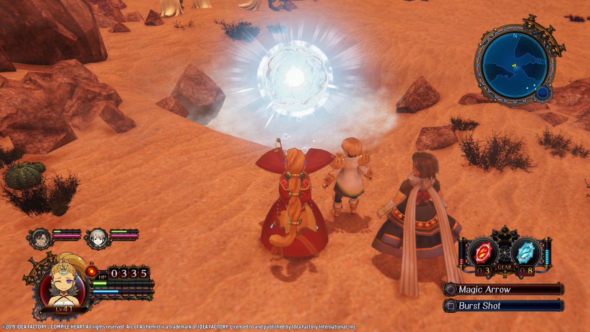 Arc of Alchemist Screen 2