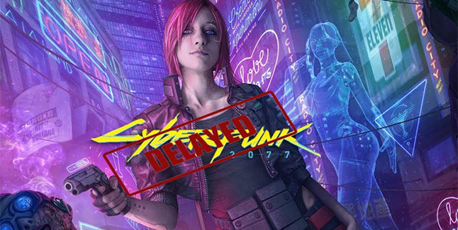 Cyberpunk 2077 Delayed Banner